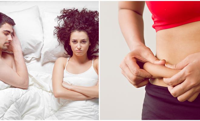 Los problemas en tu relación se están reflejando en tu peso