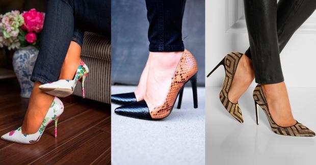 pplataformas zapatos tacones
