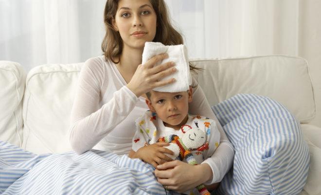 Lo que debes hacer si a tu hijo le da fiebre