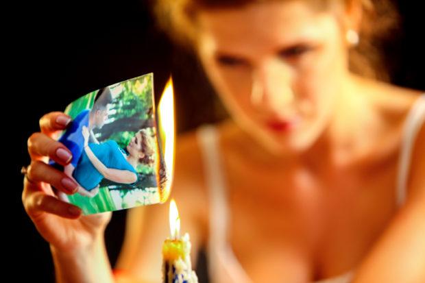 quemar carta