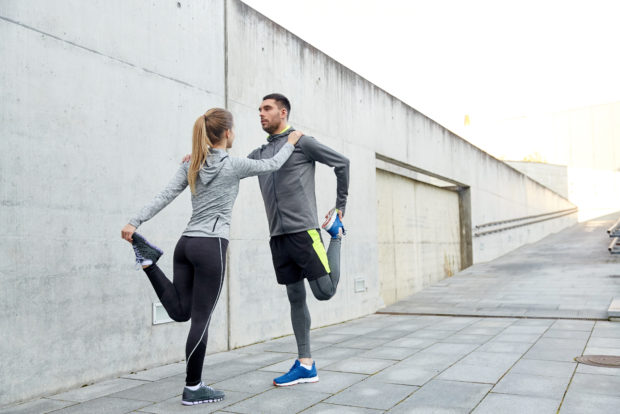 pareja deporte ejercicio