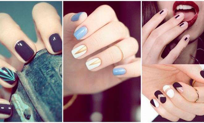 Fabulosos diseños en uñas cortas
