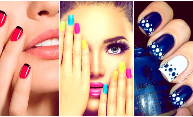 Los diseños de uñas fáciles para esta semana