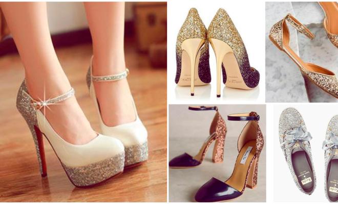 Los zapatos con glitter más sensacionales