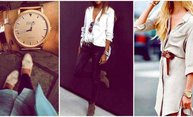 Combina tu reloj con estilo