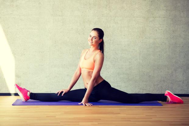 split estirar ejercicio
