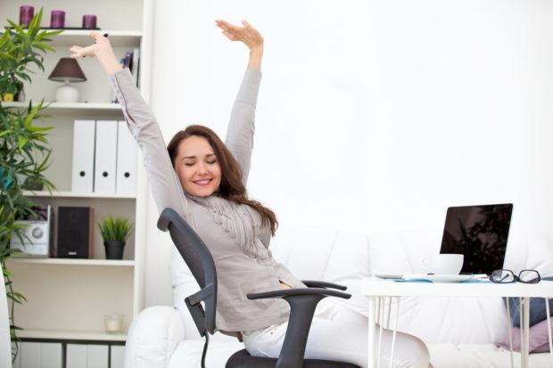 estiramiento sedentarismo