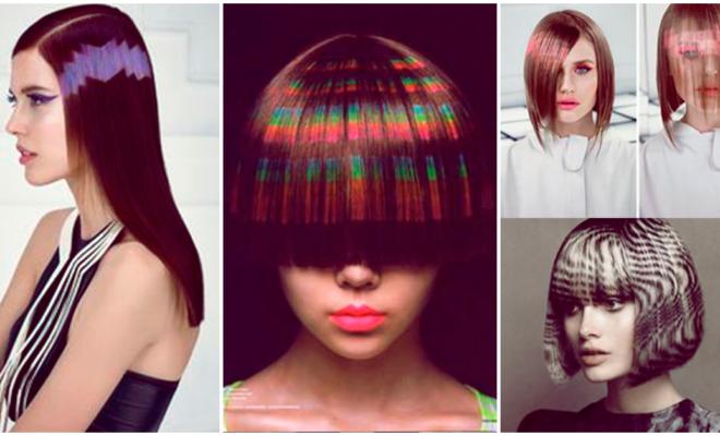 Alucinante tendencia: cabello pixelado