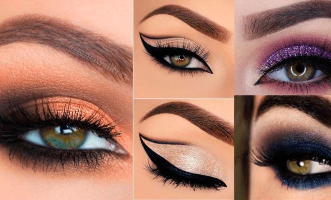 Las mejores sombras para chicas de ojos verdes
