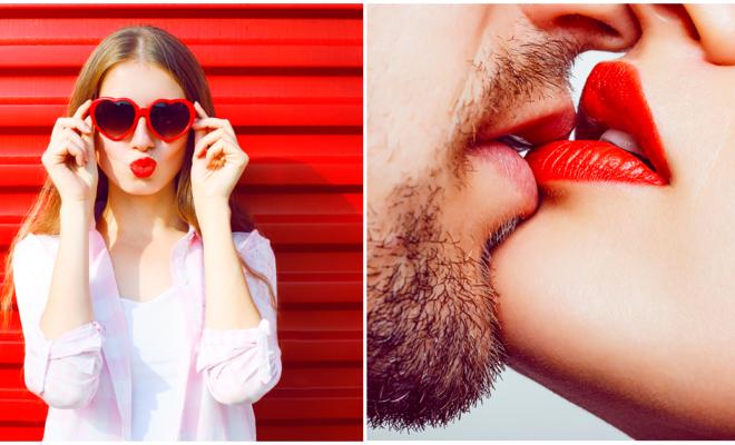 La química de un beso apasionado