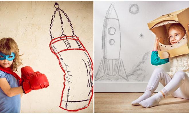 Incentiva la imaginación de tu pequeño
