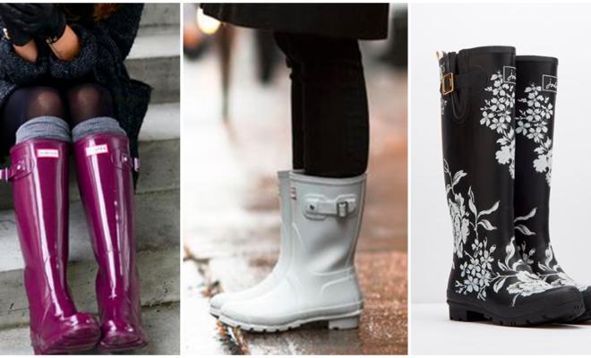 Las botas para lluvia más lindas