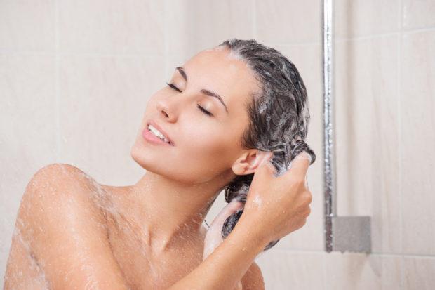 baño cabello
