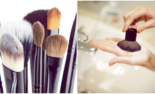 Limpia tus brochas como una profesional