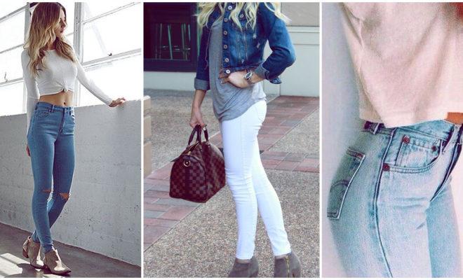 Los mejores jeans para mujeres con poca pompi