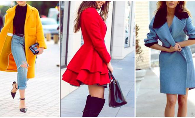 Un color de abrigo para cada día de la semana