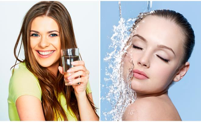 Consejos para recordar beber agua y mantener tu piel hidratada
