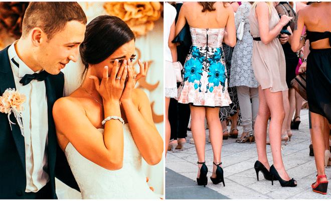 Errores que jamás debes cometer al asistir a una boda
