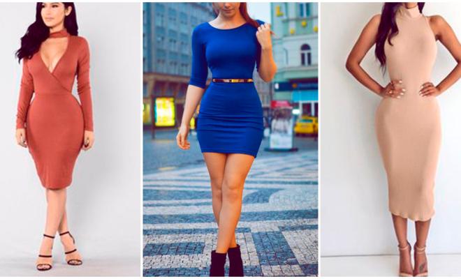 Mujeres con abdomen plano, estos son los mejores vestidos para ustedes