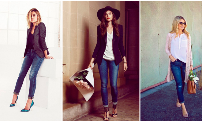 Combina tus jeans y luce super fashion