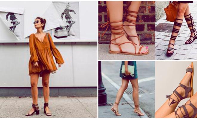 6 formas de usar sandalias
