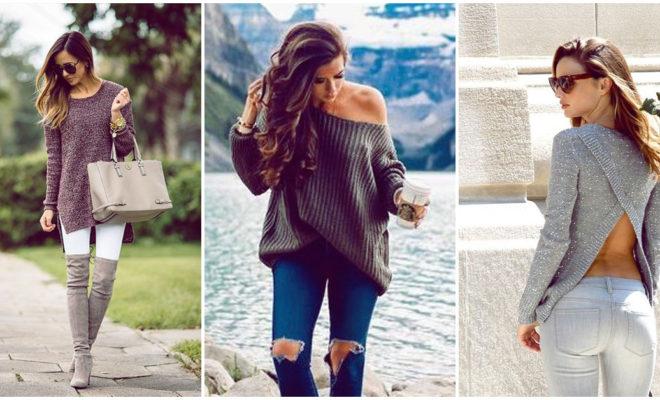 7 formas de combinar tu suéter para verte guapísima
