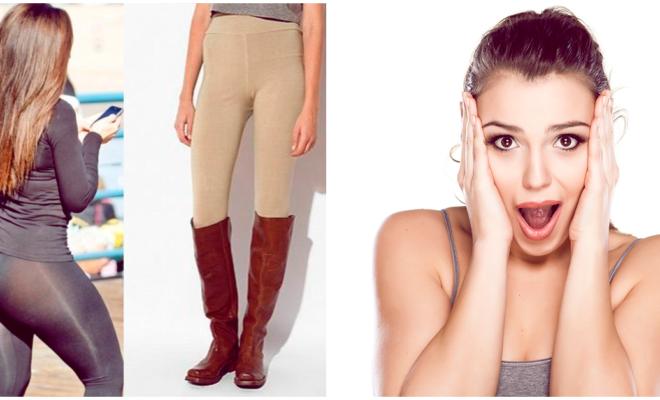 14 errores comunes al usar leggins, no los hagas