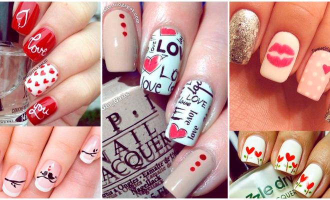 Los mejores diseños para tus uñas este San Valentín