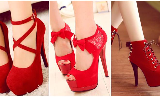 ¡Los mejores zapatos rojos que te harán lucir sexy!