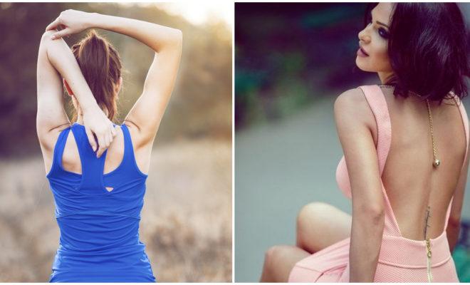 5 movimientos para tener una espalda tonificada: ¡luce más tus vestidos!