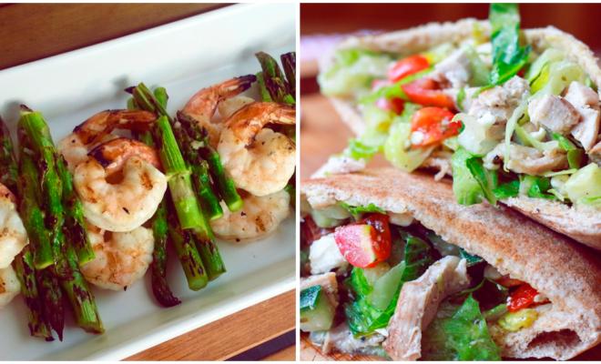 5 comidas saludables para cenar con tu pareja sin subir de peso