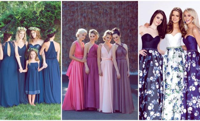Los mejores colores para los vestidos de tus damas de honor