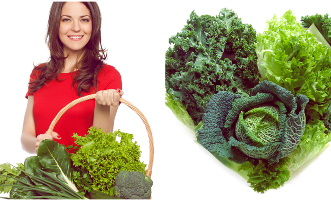 ¡Comer verde mejora tu salud!