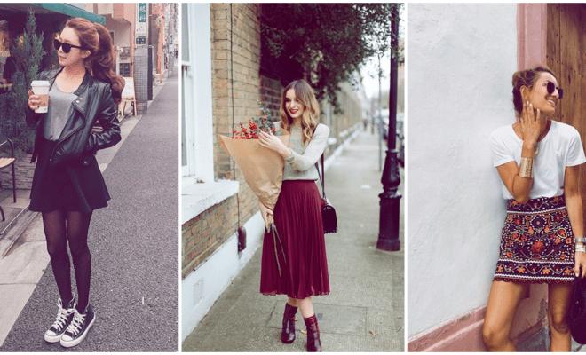 5 faldas que no pueden faltar en tu guardarropa