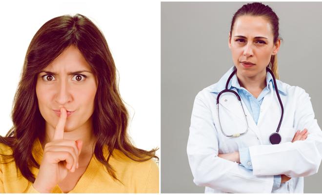 10 mentiras que no debes decirle nunca a tu doctor