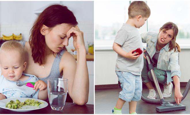15 hábitos que tienen las mamás que son infelices