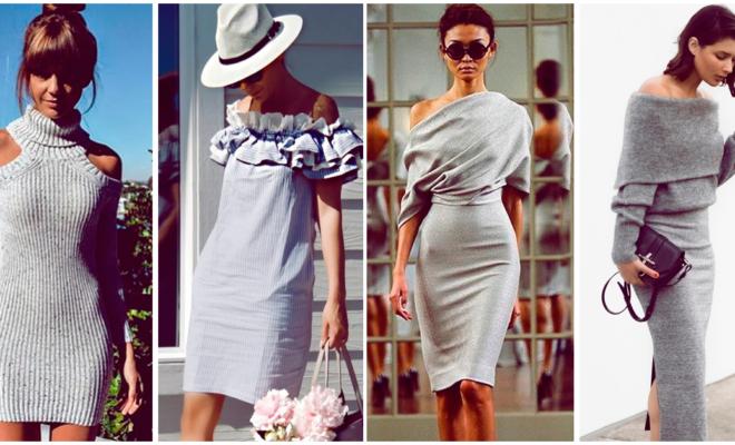 7 prendas grises que te hacen ver más sofisticada
