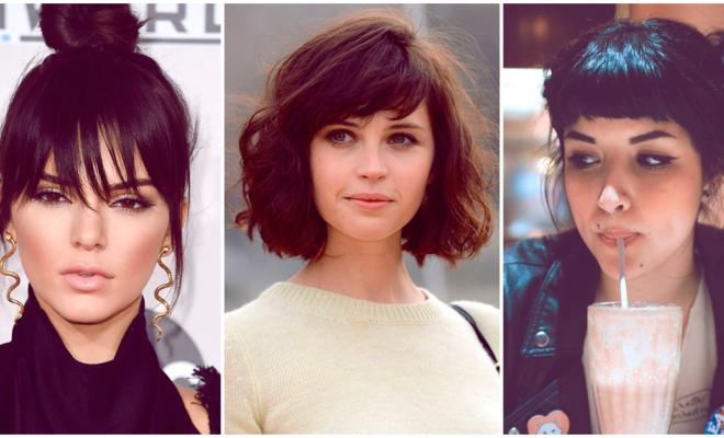 Los mejores cortes de cabello con fleco