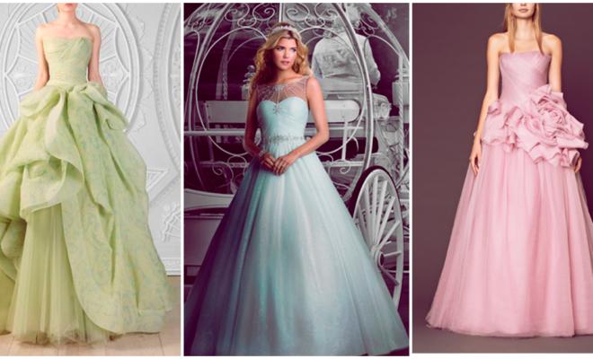 Vestidos de novia de ensueño inspirados en princesas Disney