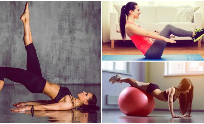 Pilates en casa para principiantes