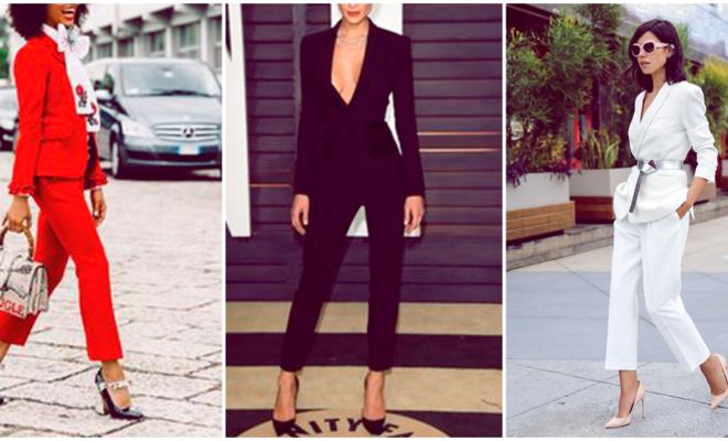 Las mujeres llevan el traje mejor que los hombres
