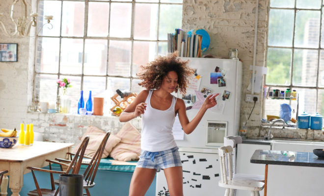 Para ser feliz… ¡baila!