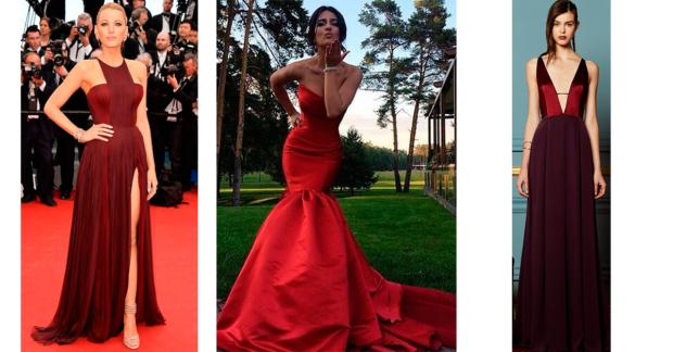 vestidos-rojos outfit
