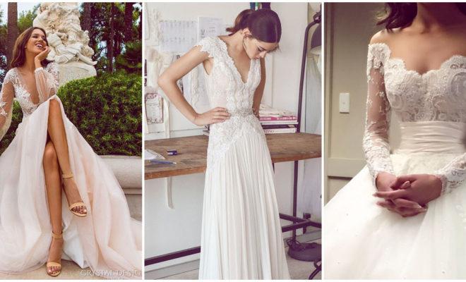Lo nuevo en vestidos de novia 2017