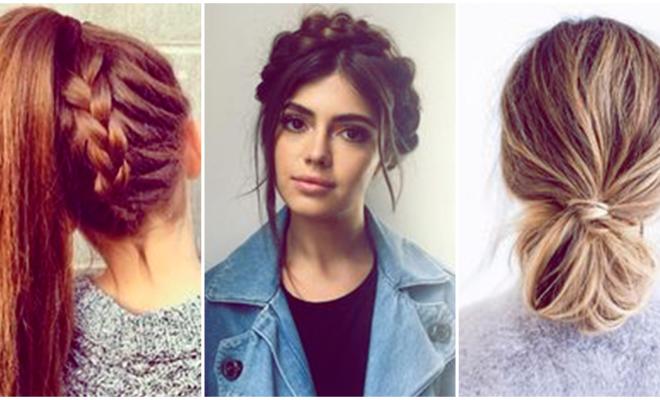 6 formas de recoger tu cabello