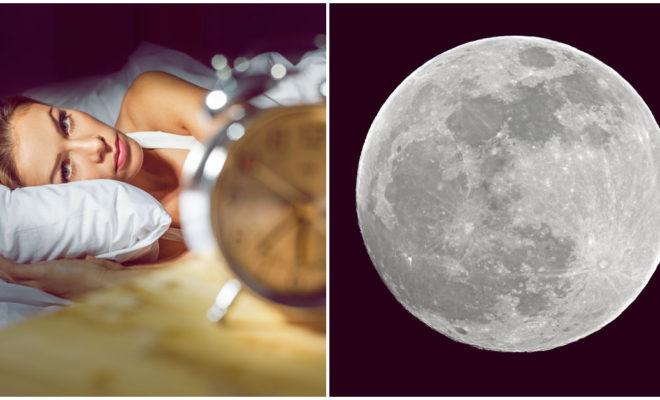 Dicen que la luna te roba el sueño, ¿mito o realidad?