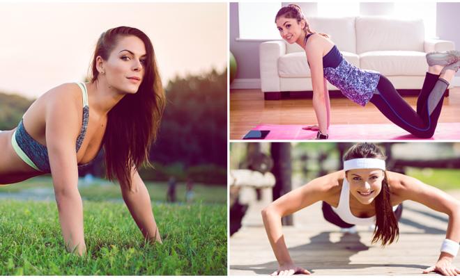 ¡Tonifica tus brazos en sólo 6 minutos con estos ejercicios básicos para principiantes!