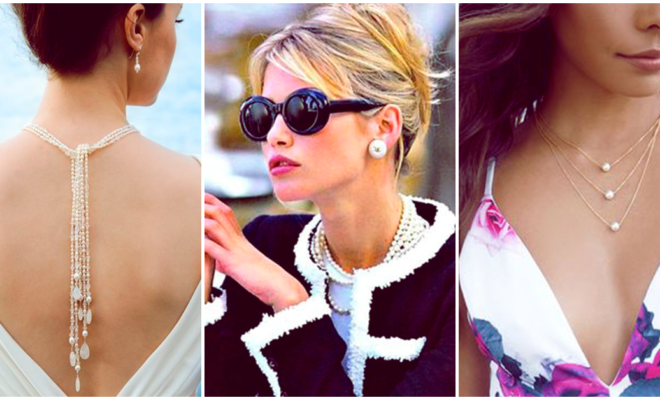 Accesorios de perlas para conseguir un look muy elegante y chic