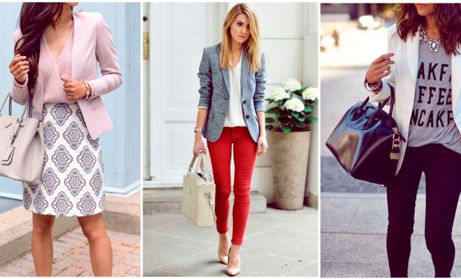 Cómo combinar tu blazer para tener un look de día y de noche