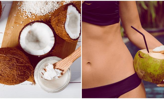 ¡El coco puede ser tu aliado para perder peso!